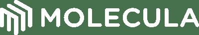 Molecula Logo Primary white