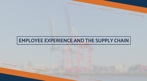 Employee experience and the supply chain videocast cover
