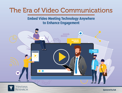 the era of video communications - 8x8 - Ebook Cover