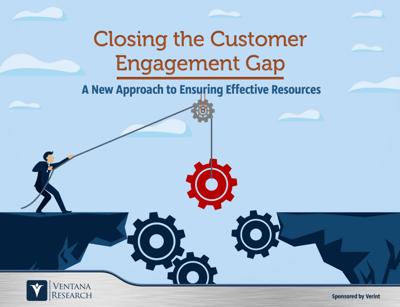 closing the customer engagement gap - Verint - Ebook Cover