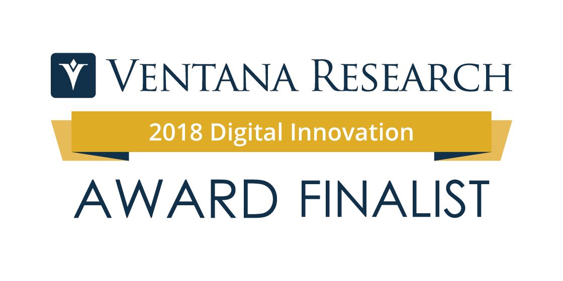 VentanaResearch_DigitalInnovationAwards_2018_Finalist