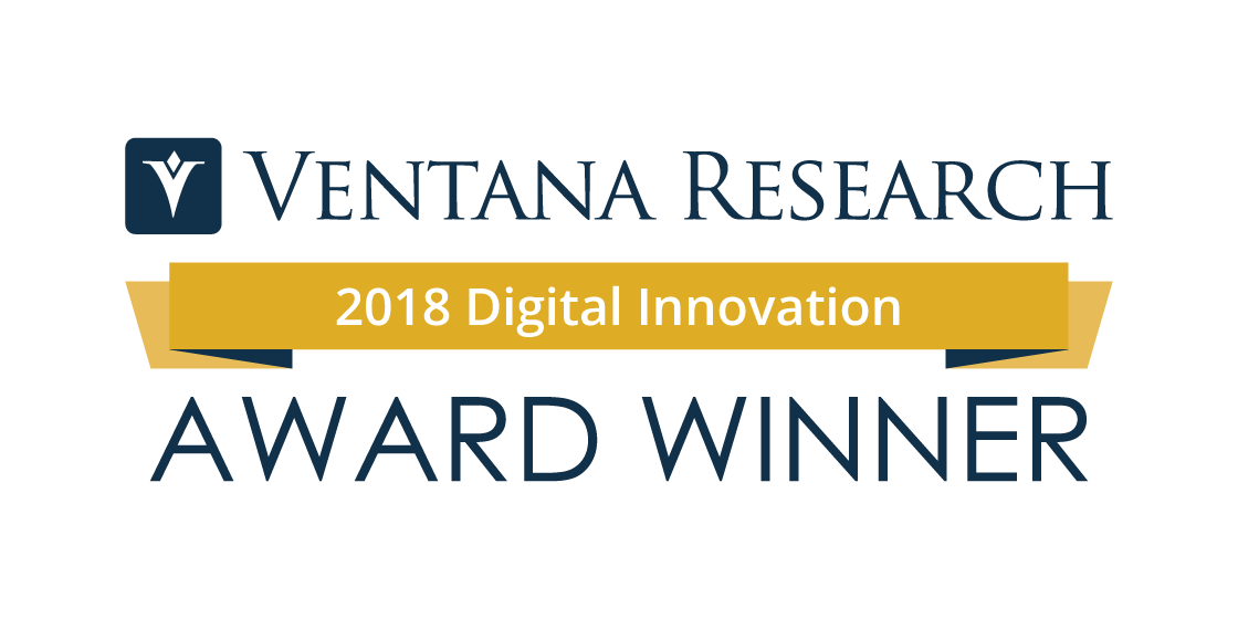 Ventana Research Unveils the Digital Innovation Award Winners for 2018