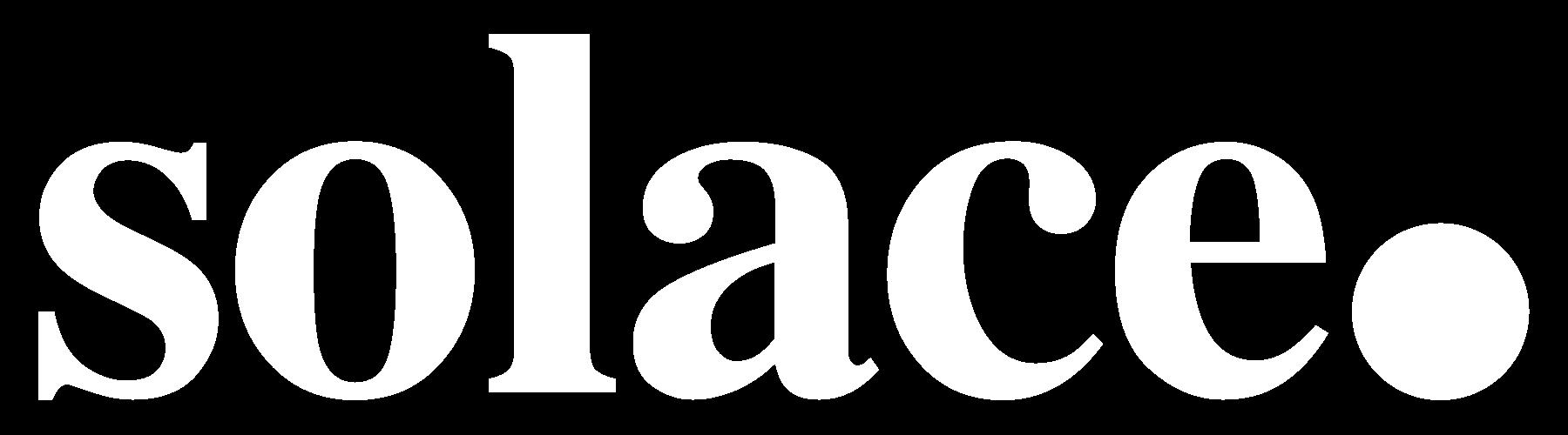 Solace Logo White