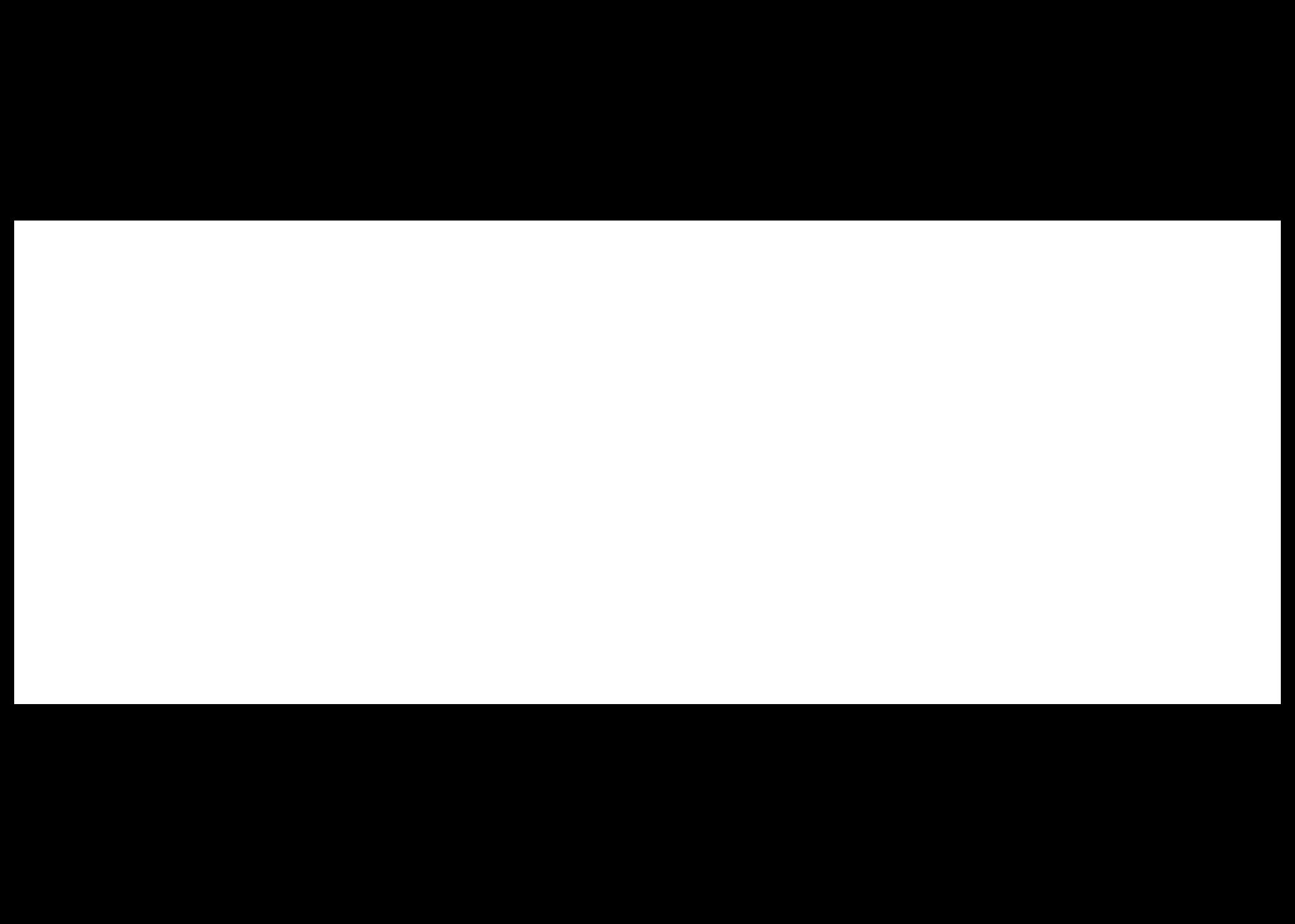 White ABB Logo
